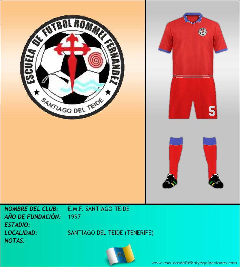 Escudo de E.M.F. SANTIAGO TEIDE