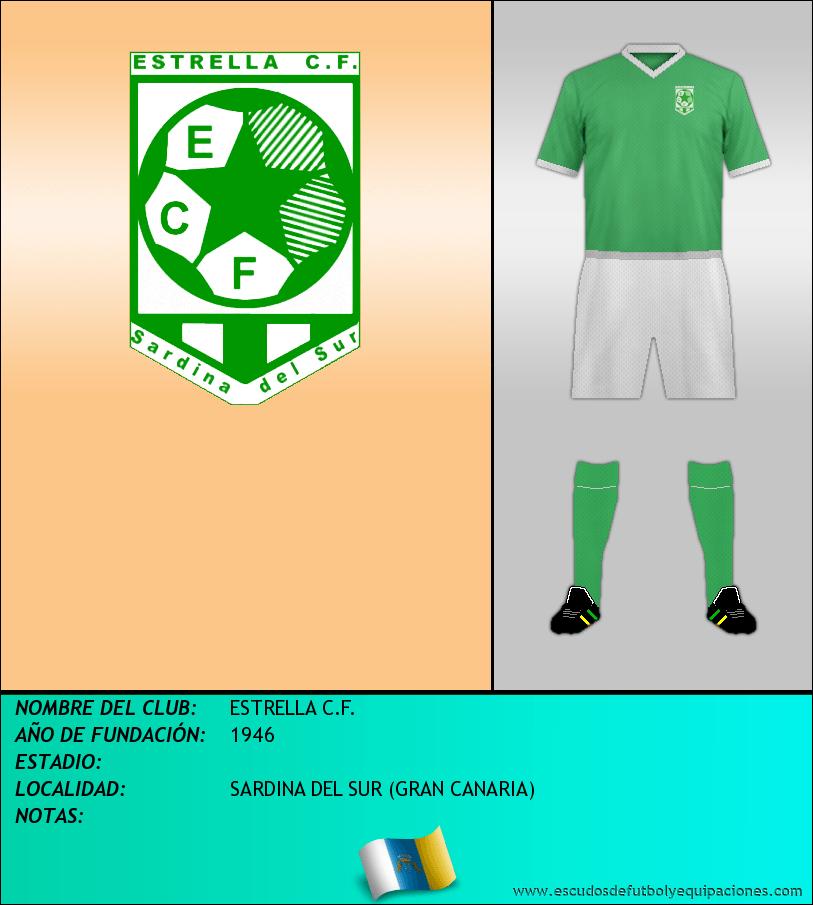 Escudo de ESTRELLA C.F.