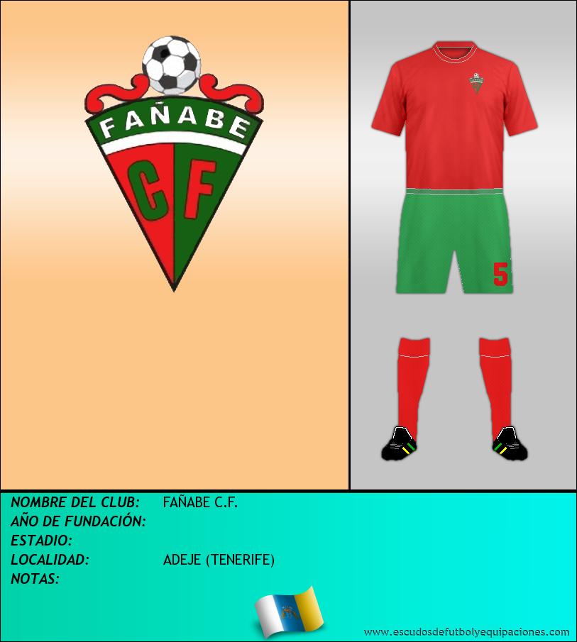Escudo de FAÑABE C.F.