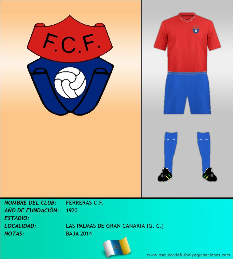 Escudo de FERRERAS C.F.
