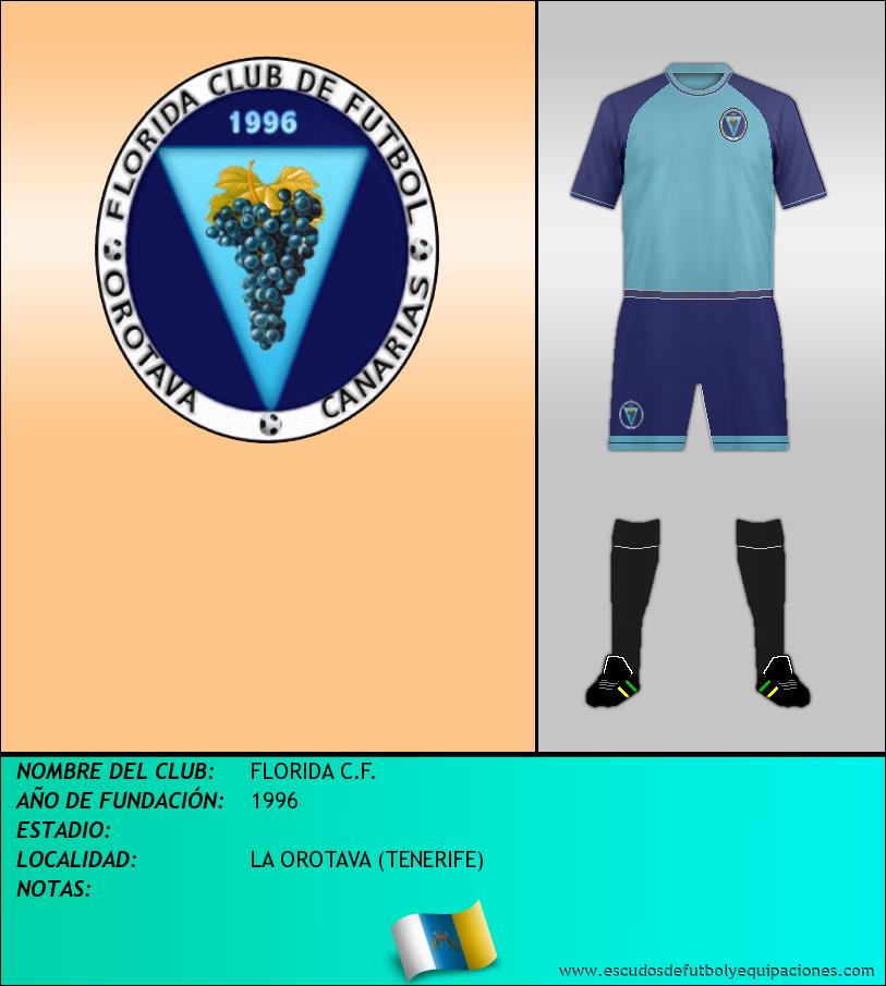 Escudo de FLORIDA C.F.