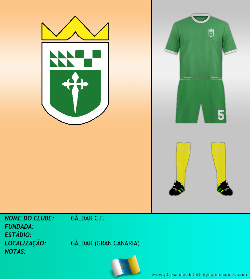 Escudo de GÁLDAR C.F.