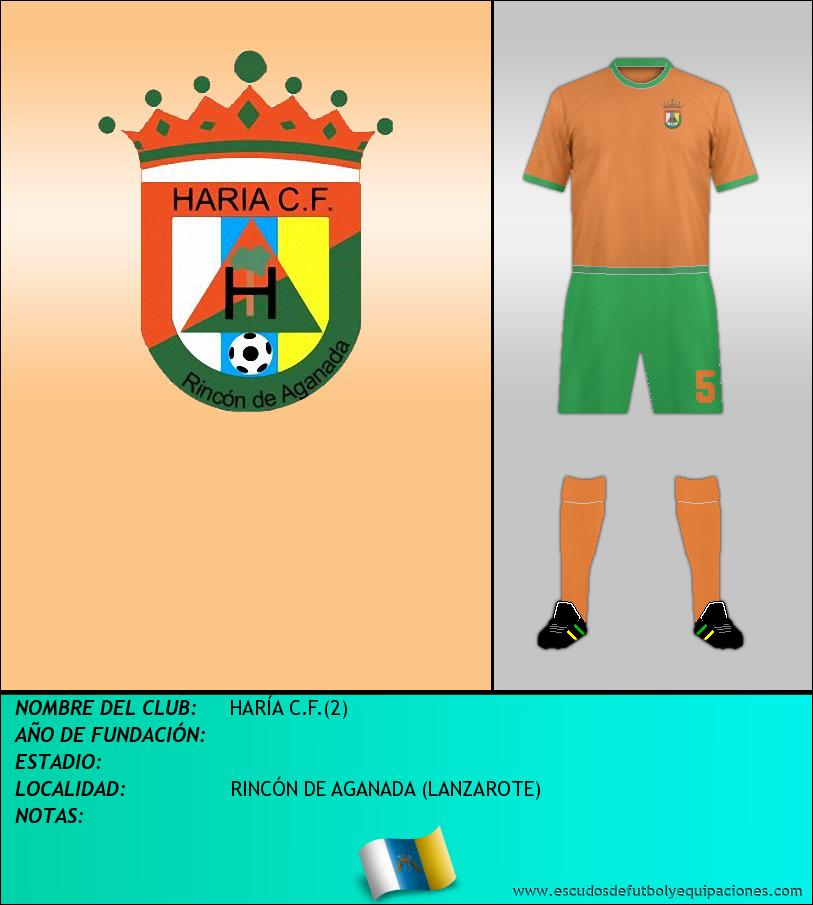 Escudo de HARÍA C.F.(2)