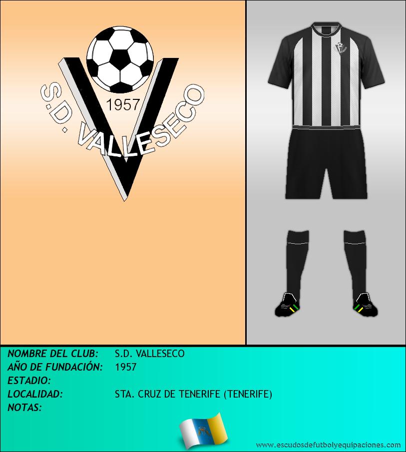Escudo de S.D. VALLESECO