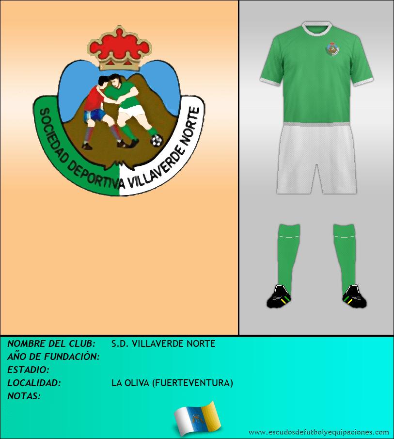 Escudo de S.D. VILLAVERDE NORTE