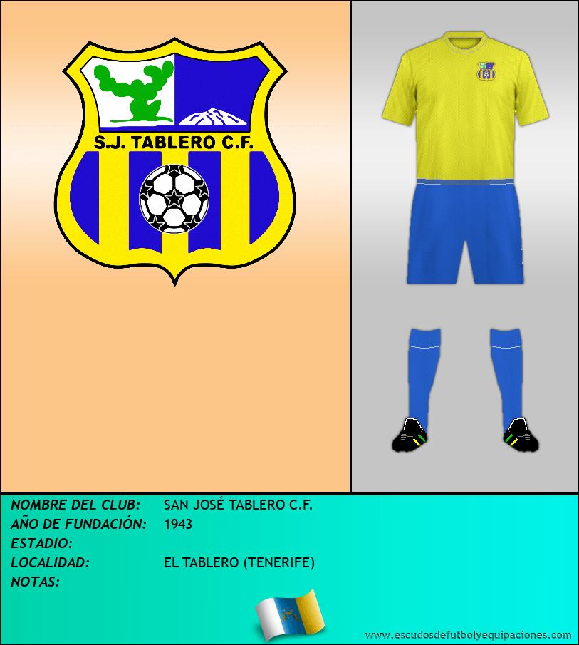 Escudo de SAN JOSÉ TABLERO C.F.