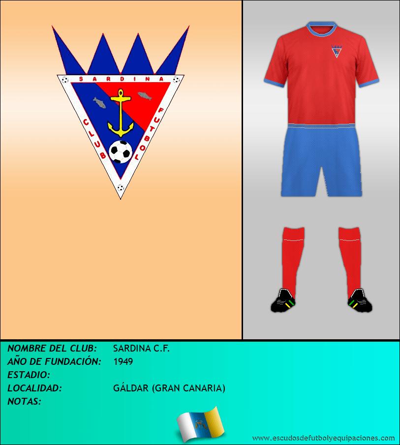 Escudo de SARDINA C.F.