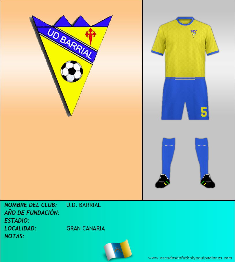 Escudo de U.D. BARRIAL
