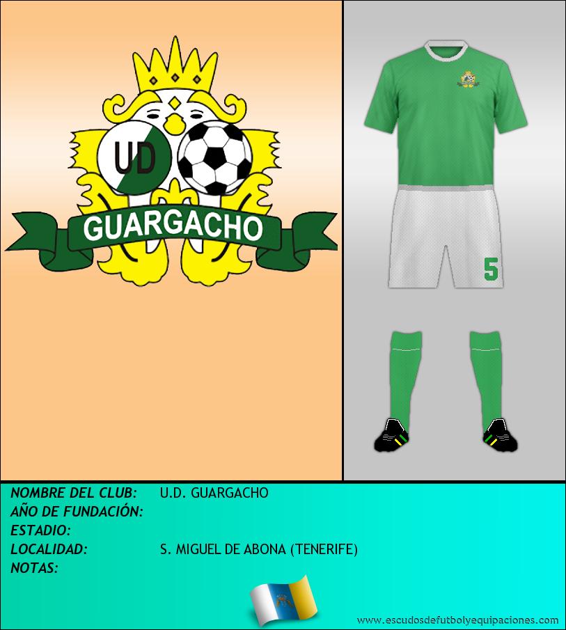 Escudo de U.D. GUARGACHO