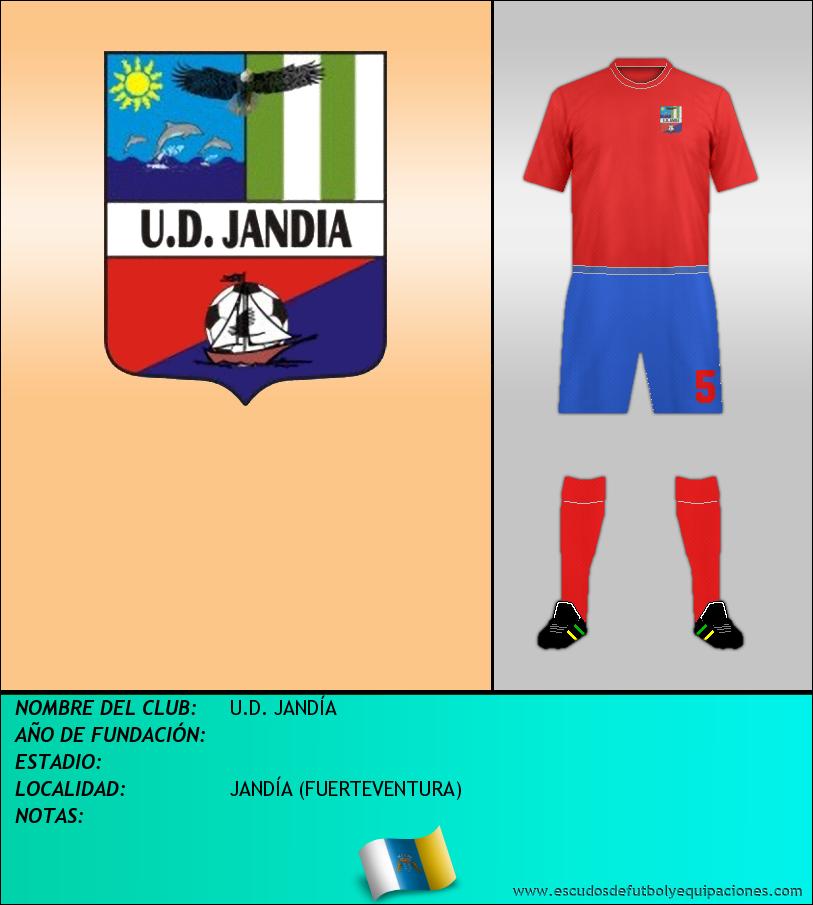 Escudo de U.D. JANDÍA