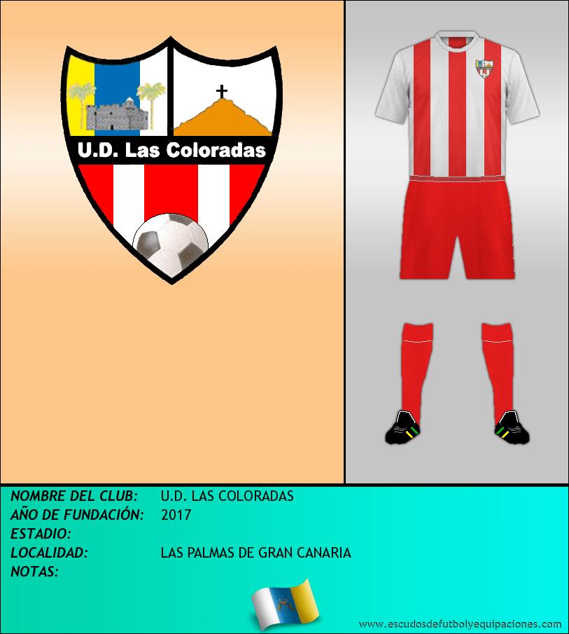 Escudo de U.D. LAS COLORADAS