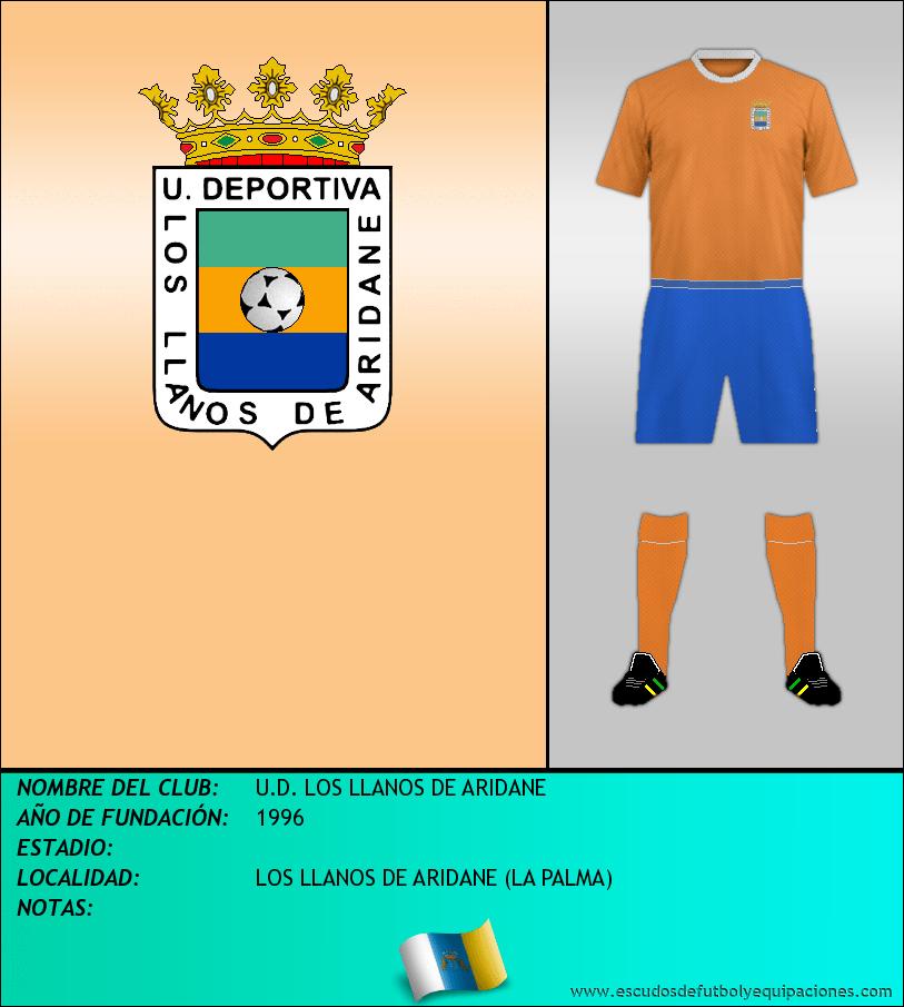 Escudo de U.D. LOS LLANOS DE ARIDANE