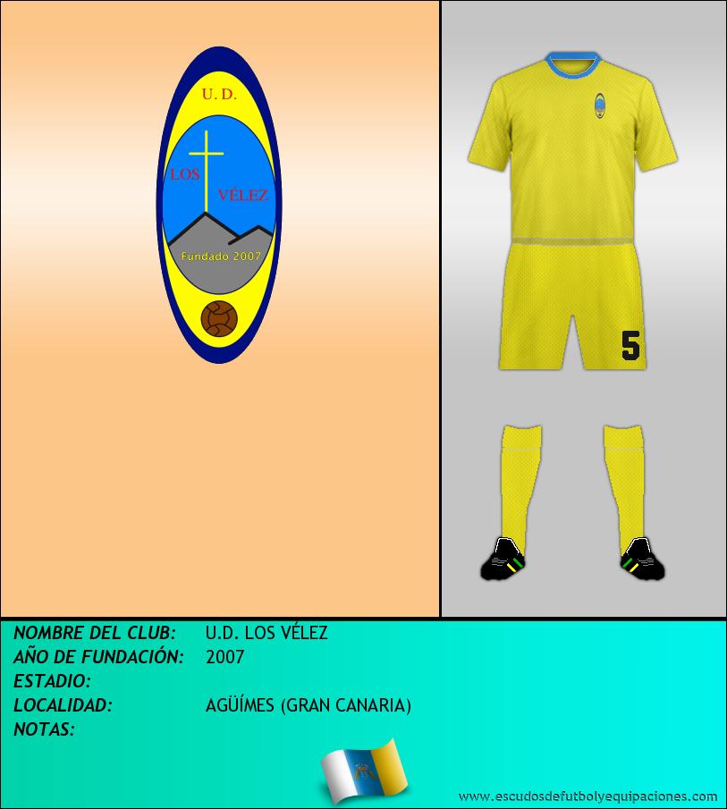 Escudo de U.D. LOS VÉLEZ