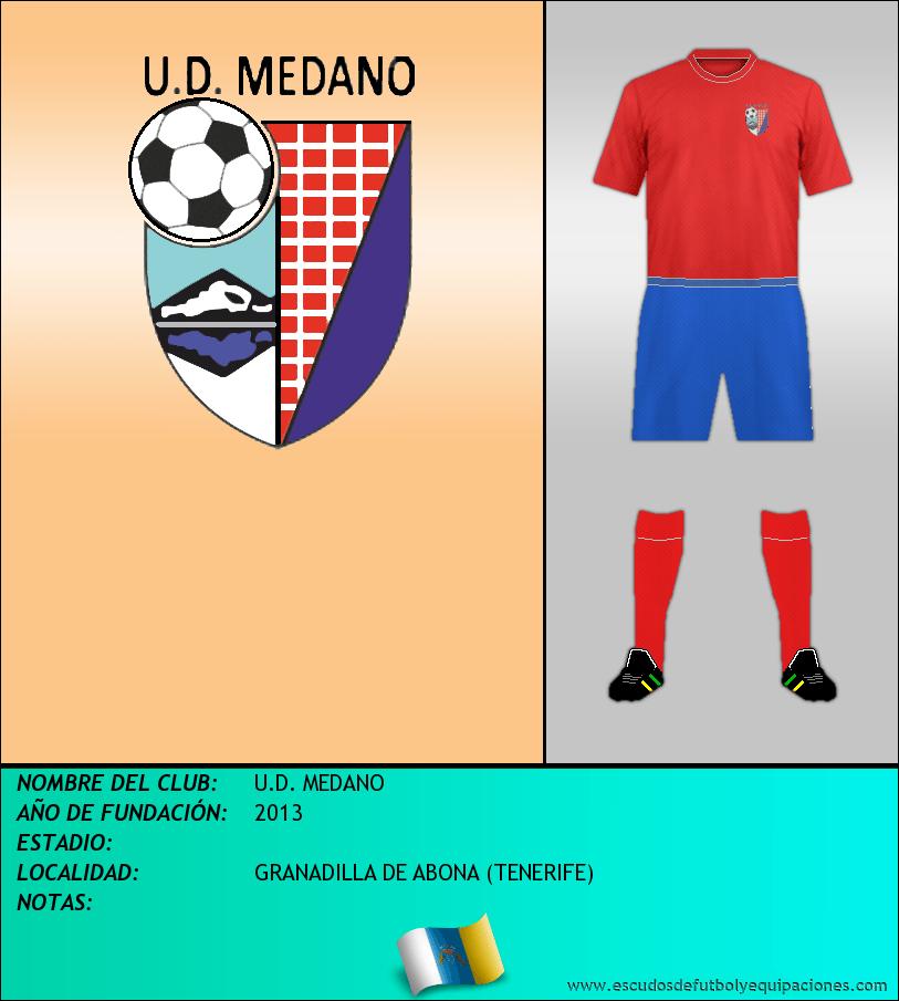Escudo de U.D. MEDANO