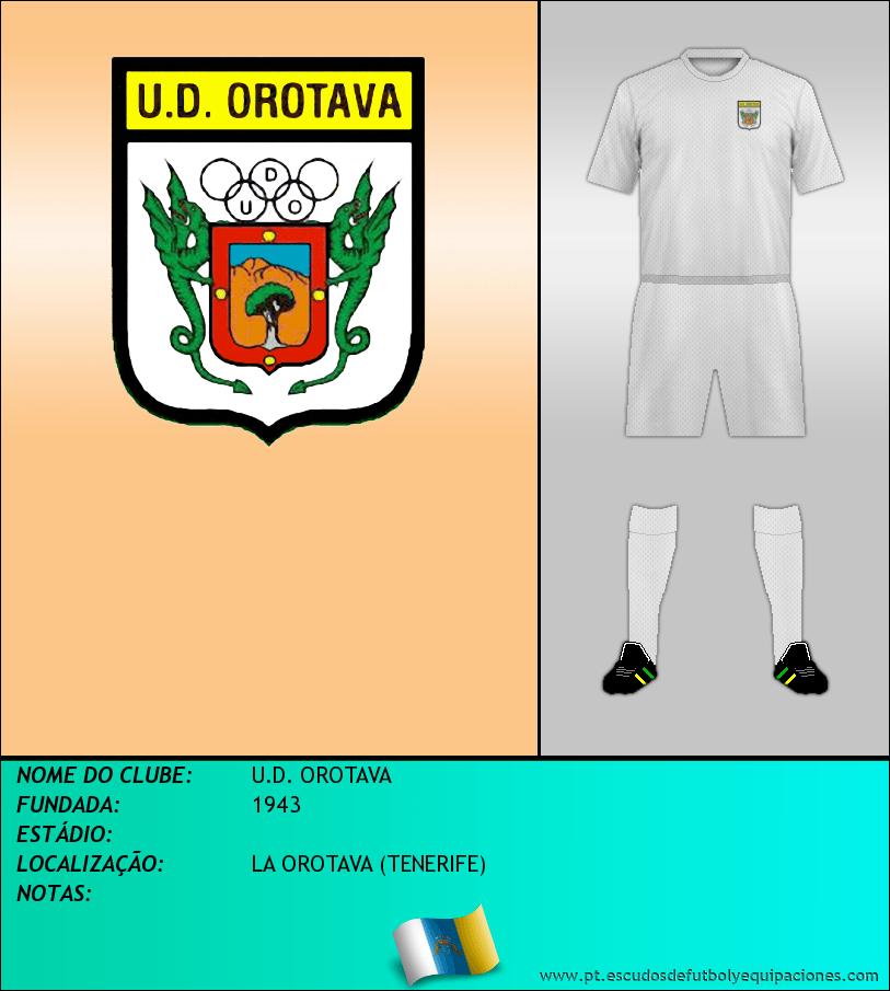 Escudo de U.D. OROTAVA