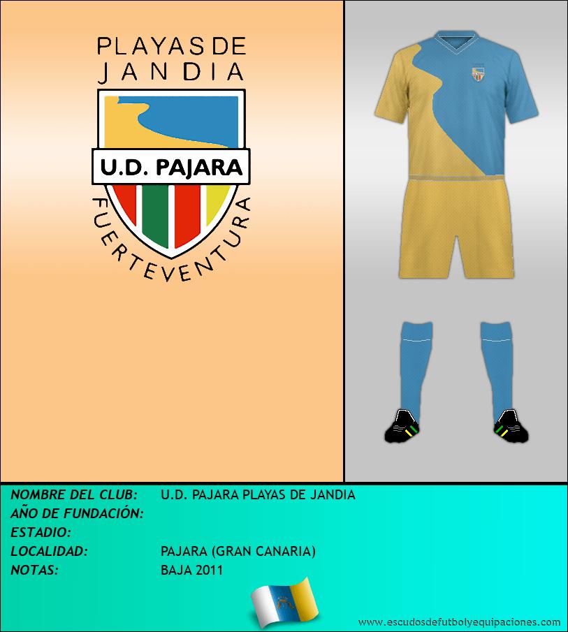 Escudo de U.D. PAJARA PLAYAS DE JANDIA