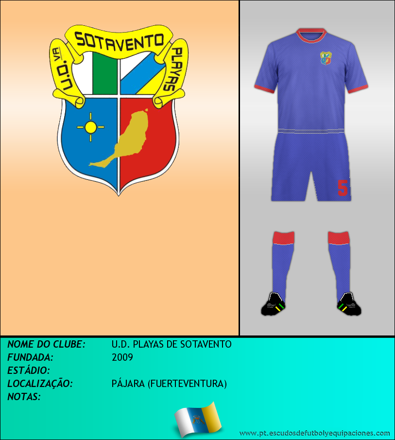 Escudo de U.D. PLAYAS DE SOTAVENTO