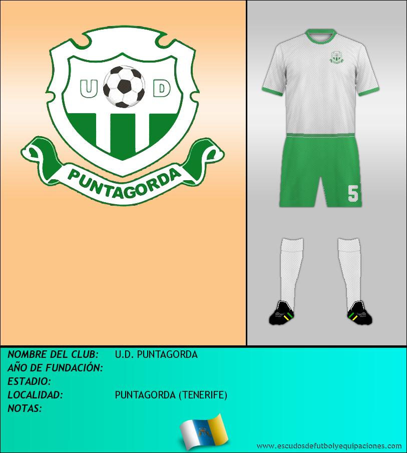 Escudo de U.D. PUNTAGORDA