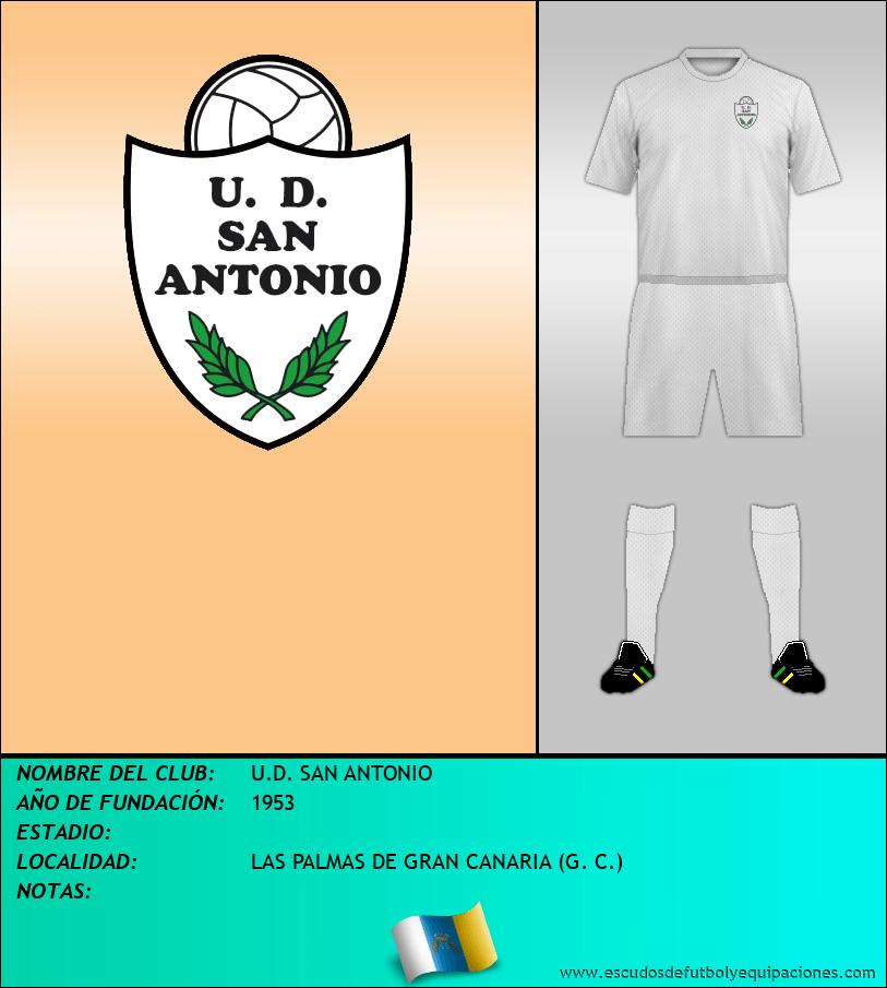 Escudo de U.D. SAN ANTONIO