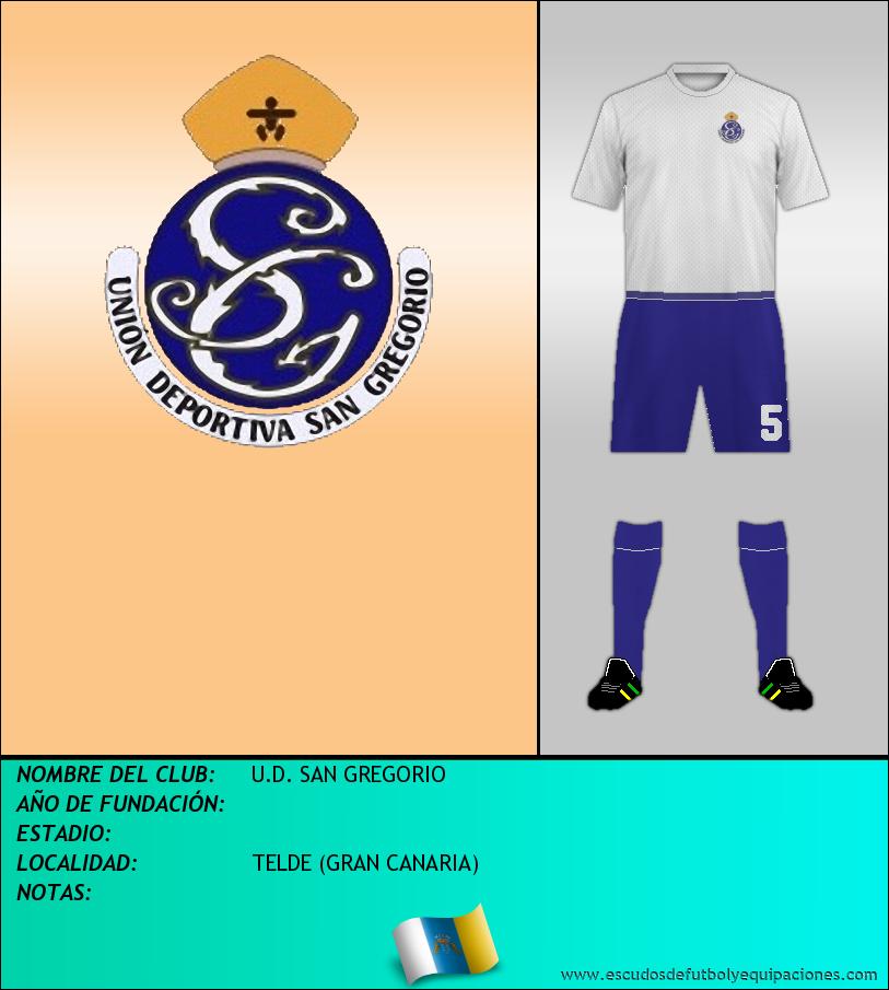 Escudo de U.D. SAN GREGORIO