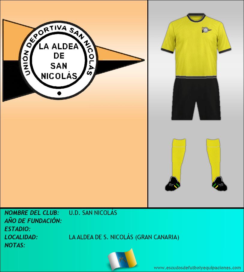 Escudo de U.D. SAN NICOLÁS
