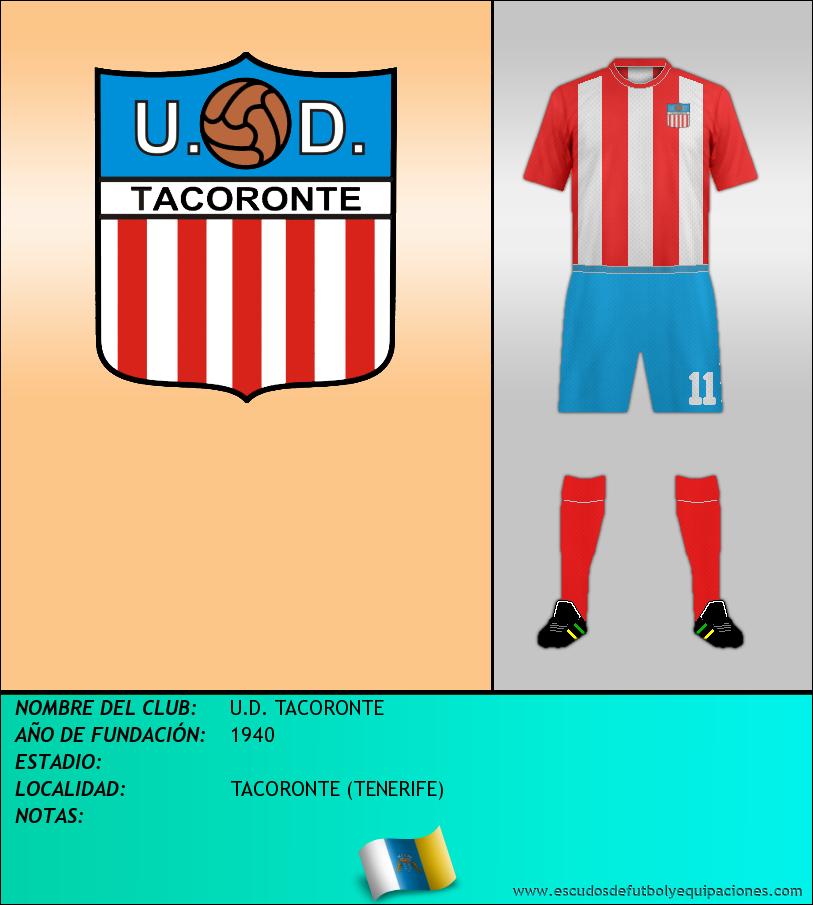Escudo de U.D. TACORONTE
