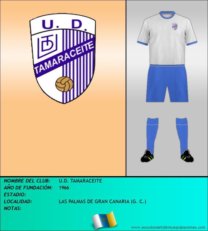 Escudo de U.D. TAMARACEITE