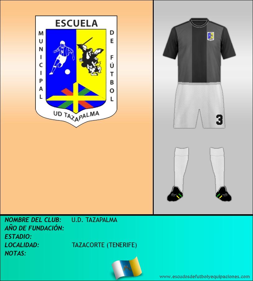 Escudo de U.D. TAZAPALMA