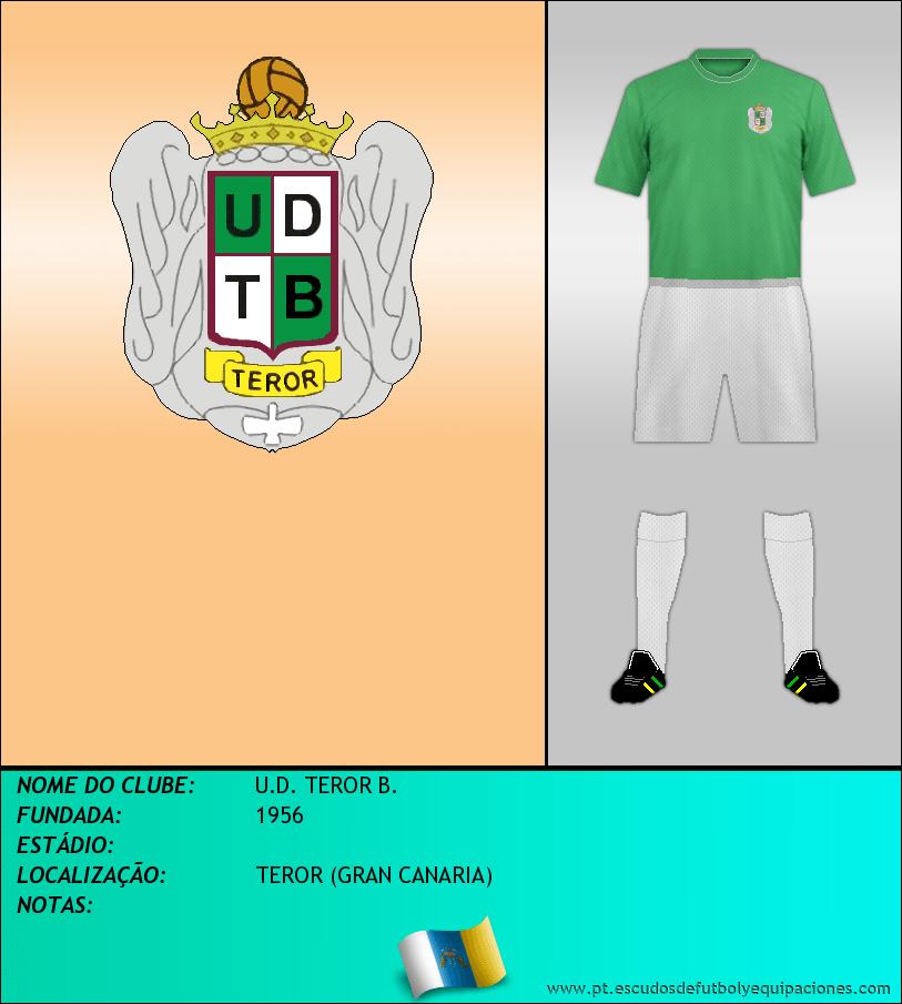 Escudo de U.D. TEROR B.