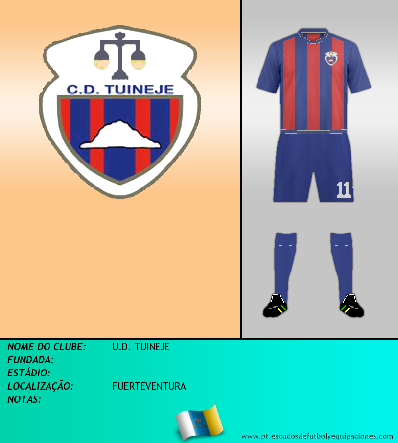 Escudo de U.D. TUINEJE
