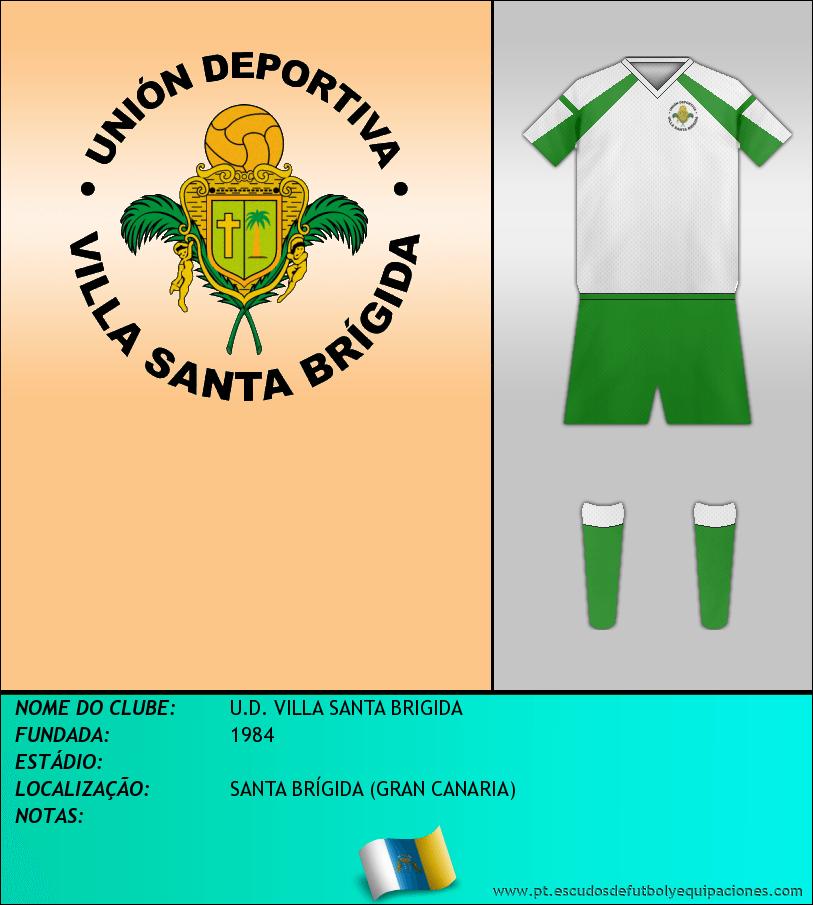 Escudo de U.D. VILLA SANTA BRIGIDA