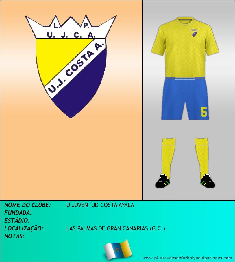 Escudo de U.JUVENTUD COSTA AYALA