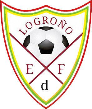 Escudo de E.D.F. LOGROÑO (LA RIOJA)