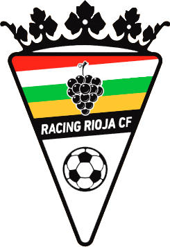 Escudo de RACING RIOJA C.F. (LA RIOJA)