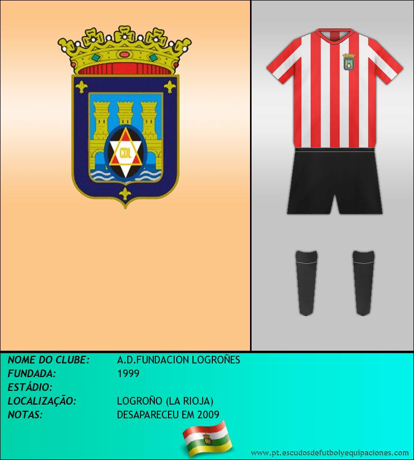 Escudo de A.D.FUNDACION LOGROÑES