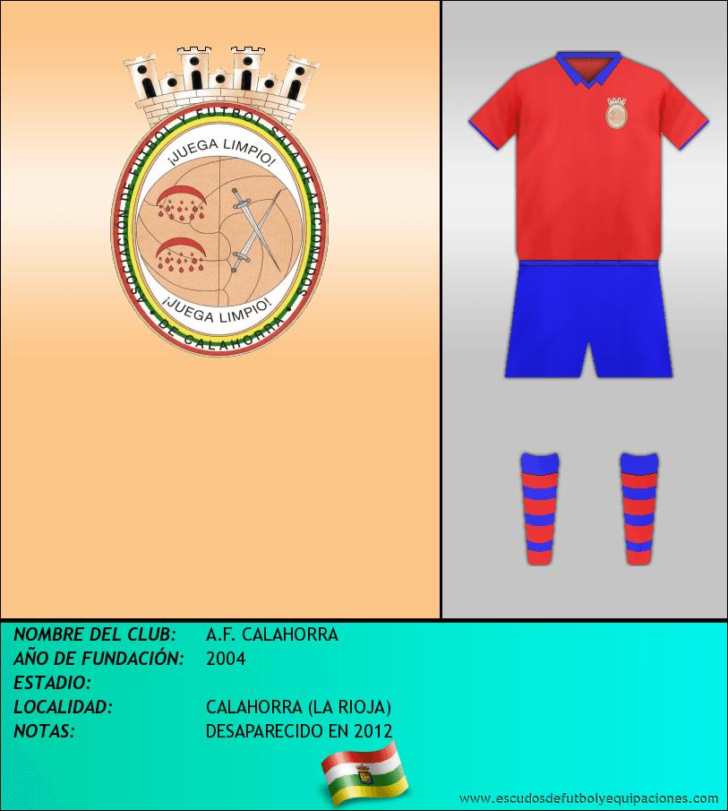 Escudo de A.F. CALAHORRA