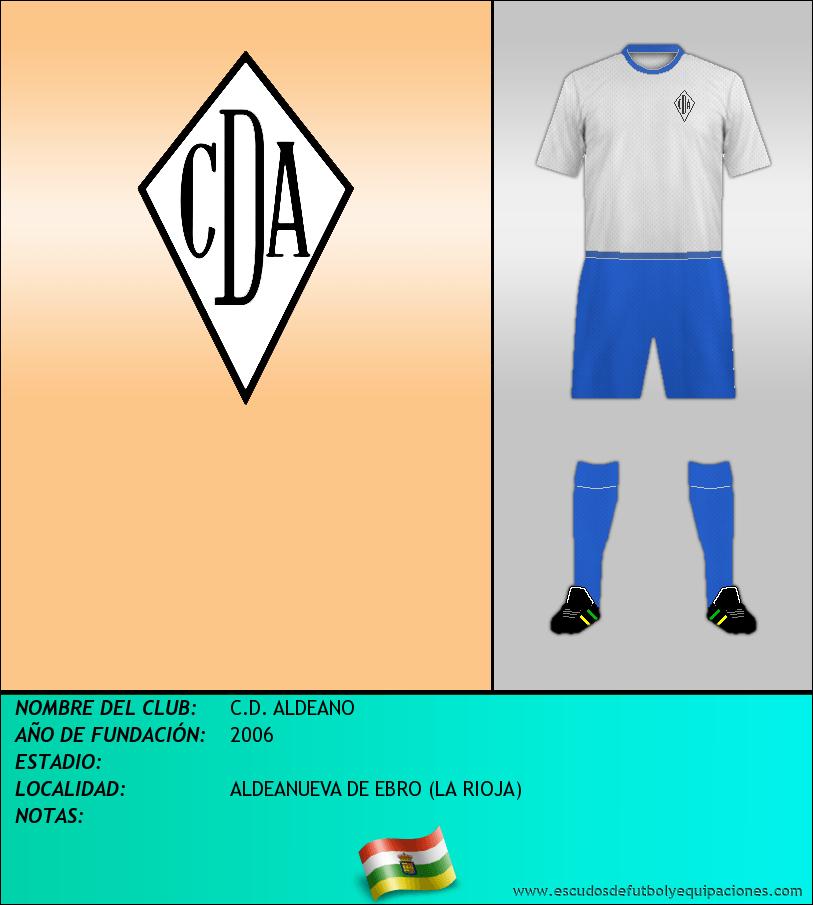 Escudo de C.D. ALDEANO