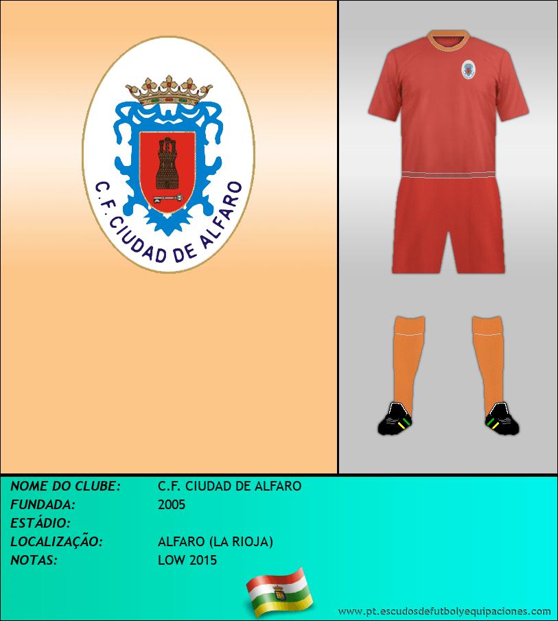 Escudo de C.F. CIUDAD DE ALFARO