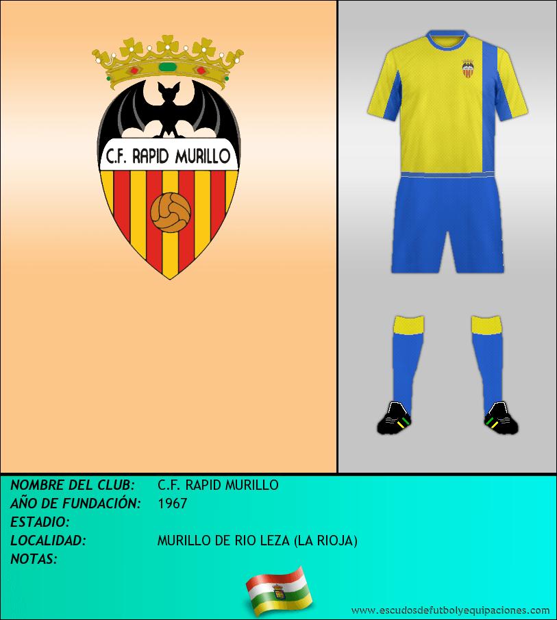 Escudo de C.F. RAPID MURILLO