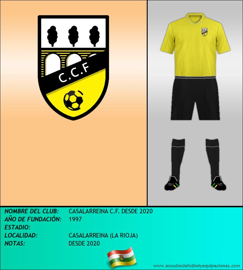 Escudo de CASALARREINA C.F. DESDE 2020
