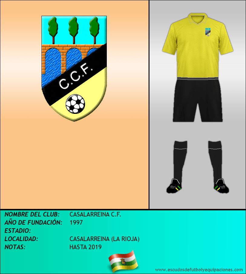 Escudo de CASALARREINA C.F.