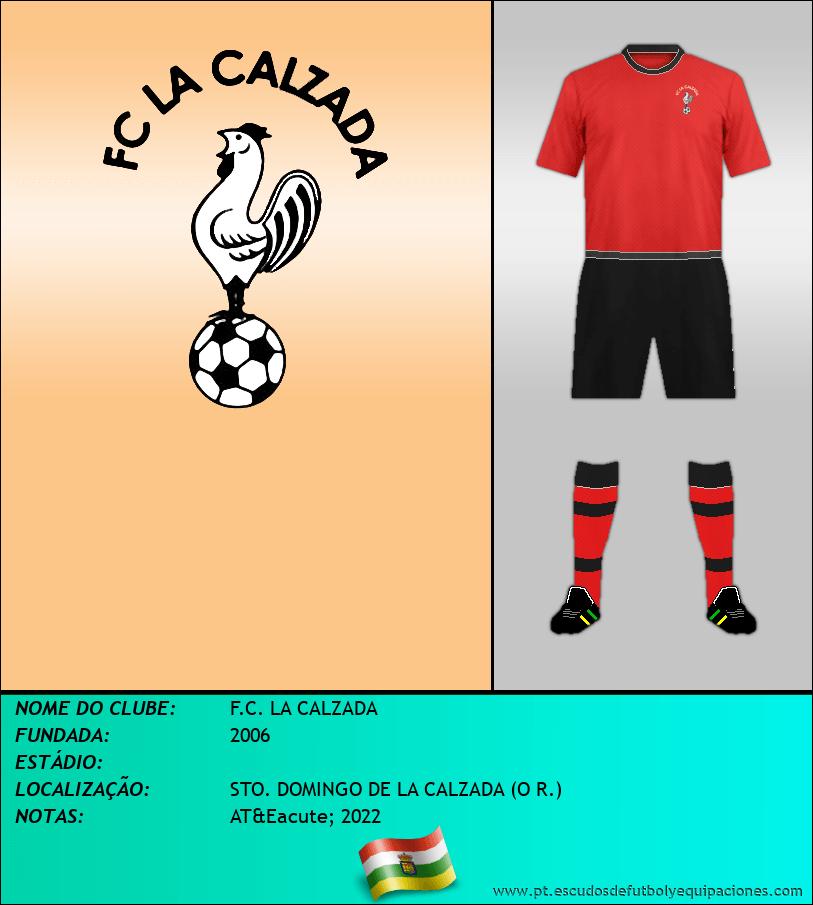 Escudo de F.C. LA CALZADA