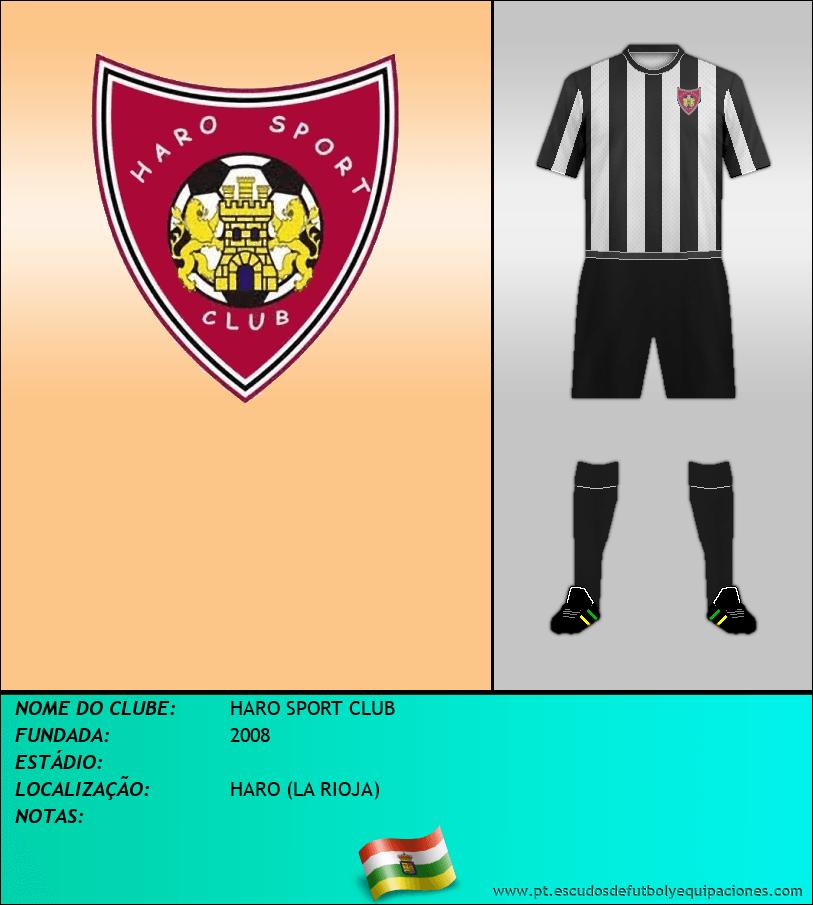 Escudo de HARO SPORT CLUB