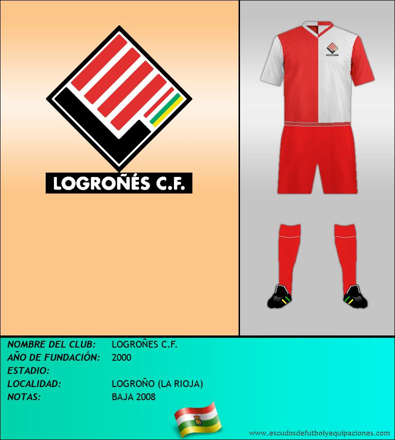 Escudo de LOGROÑES C.F.