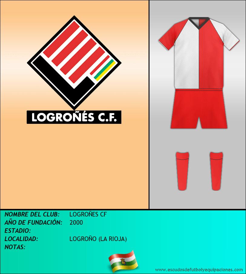 Escudo de LOGROÑES CF