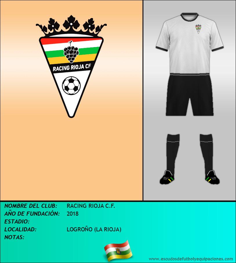 Escudo de RACING RIOJA C.F.