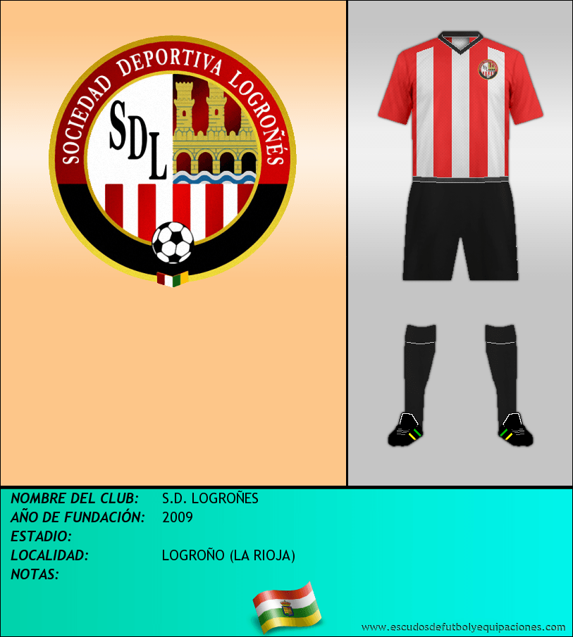 Escudo de S.D. LOGROÑES