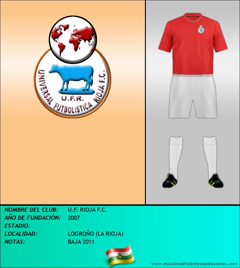 Escudo de U.F. RIOJA F.C.