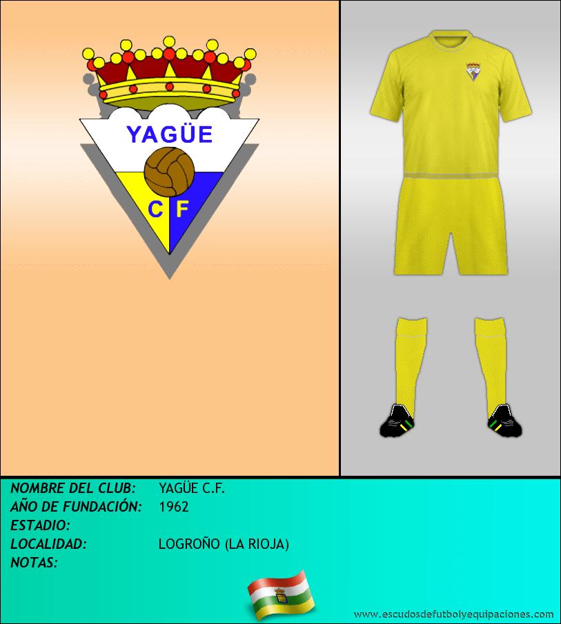 Escudo de YAGÜE C.F.