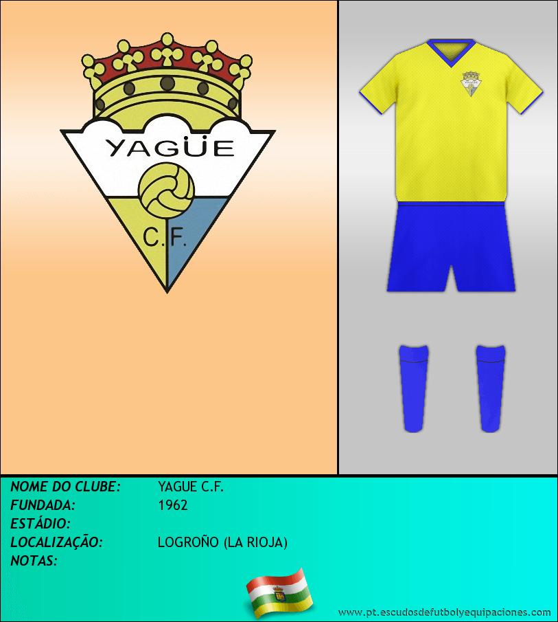 Escudo de YAGUE C.F.